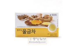 동우당 울금차(dongwoodang tumeric tea)1.2g* 100 Tea bag ,Best by 2/10/21
