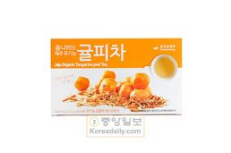 제주 유기농 귤피차(organic tangerine peel tea) 1.5g *100 tea bag,Best by 6/30/21